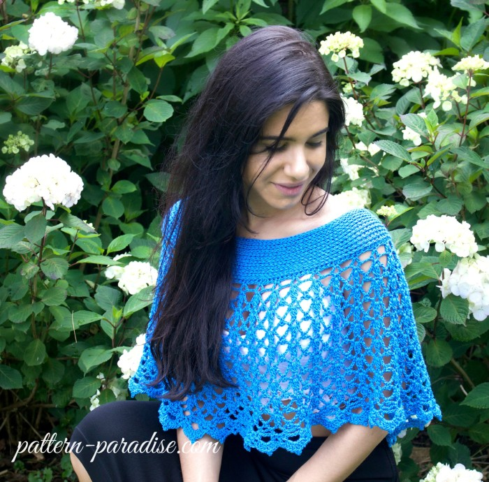 Crochet Pattern - Serenity Wrap & Beach Skirt by Pattern-Paradise.com