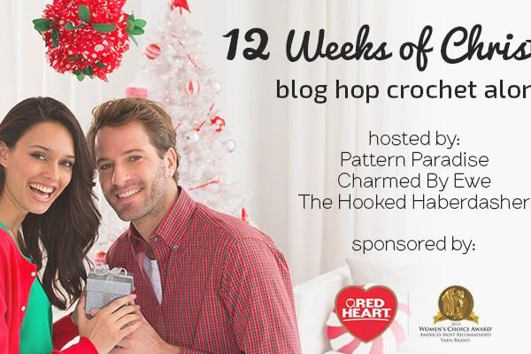 12 Weeks of Christmas Blog Hop Crochet Along