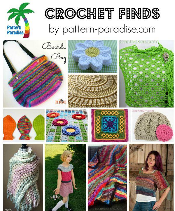 Crochet Finds 8-24-15 on Pattern-Paradise.com