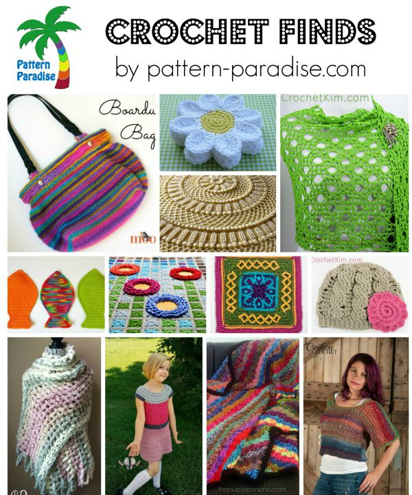 Crochet Finds 8-24-15 on Pattern-Paradise.com