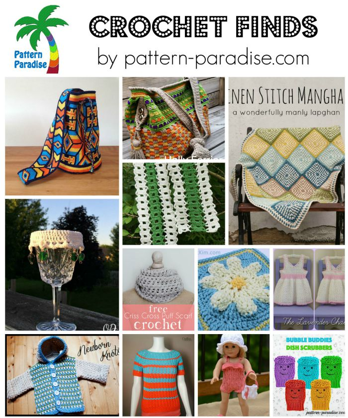 Crochet Finds on Pattern-Paradise.com 8-10-15