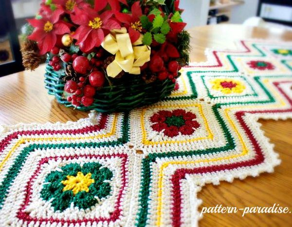 12 Weeks of Christmas Blog Hop CAL – Week 3 Free Pattern