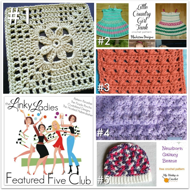 Linky Ladies Link Party #12 on Pattern-Paradise.com