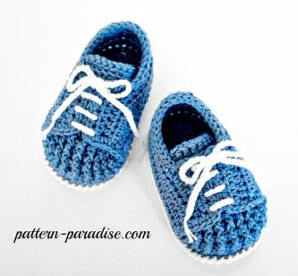 Crochet Pattern Twinkle Toes Booties by Pattern-Paradise.com