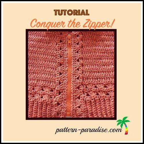 Tutorial Installing a Zipper by Pattern-Paradise.com