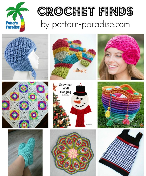 Crochet Finds on Pattern-Paradise.com