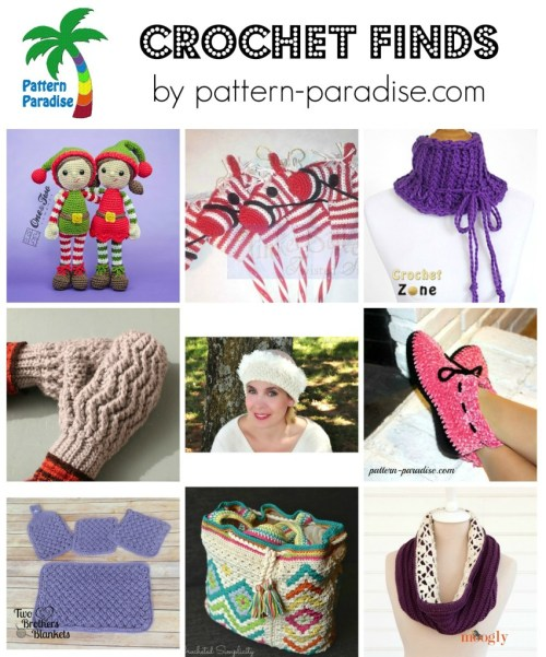 Crochet Finds on Pattern Paradise 11-09-15