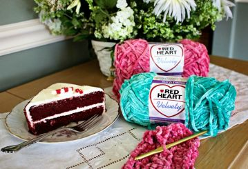 12 weeks of christmas blog hop CAL Velvety Yarn