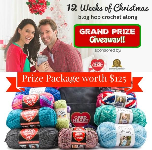 12 Weeks of christmas on Pattern-Paradise.com