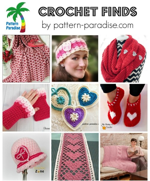 Crochet Finds 1-18-16 on Pattern-Paradise.com