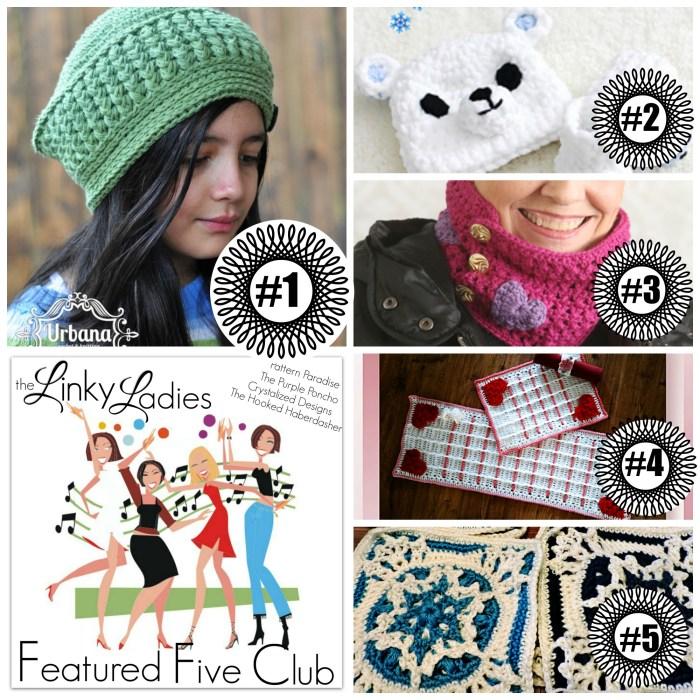 Linky Ladies #35 on Pattern-Paradise.com