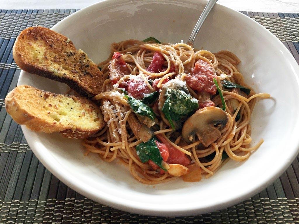 PIck Me Up Pasta Recipe on Pattern-Paradise.com