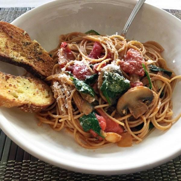 Recipe: Pick Me Up Pasta
