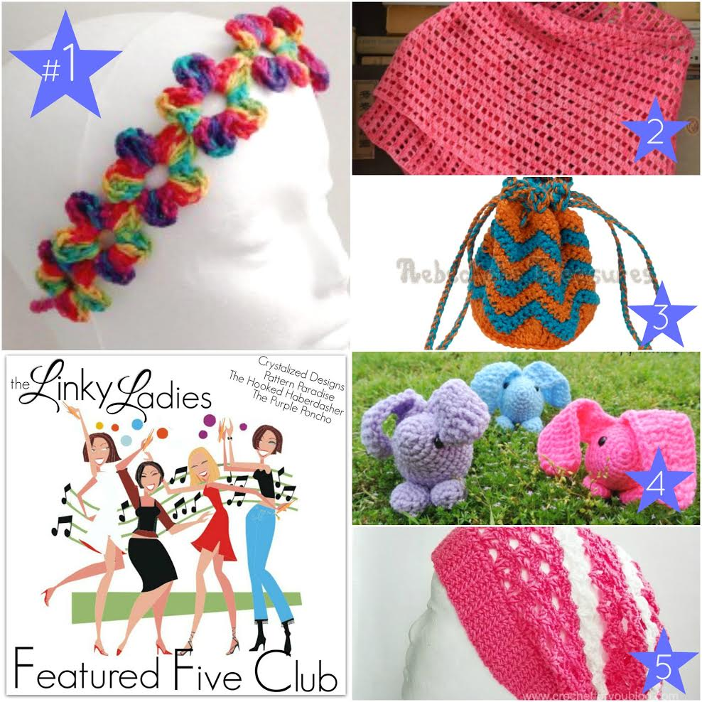 Linky Ladies Community Link Party #42 on Pattern-Paradise.com