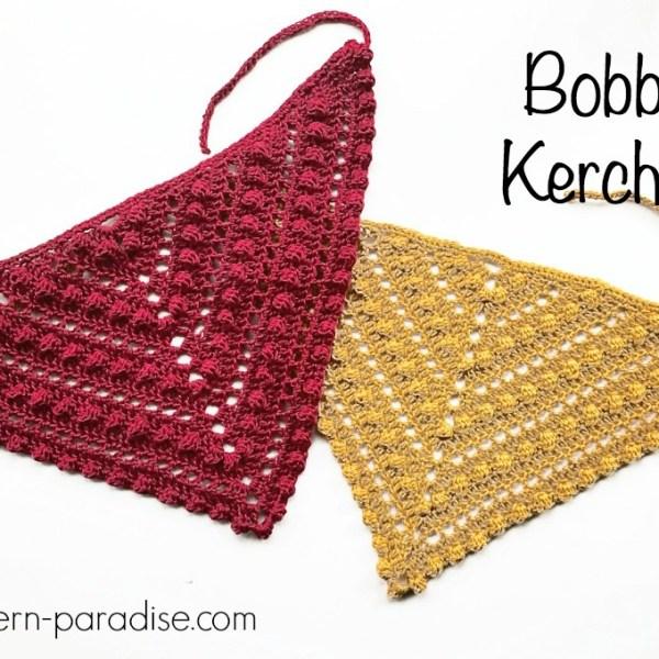 Free Crochet Pattern: Bobble Kerchief