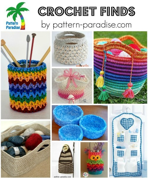 Crochet Finds 4-17-16 on Pattern-Paradise.com