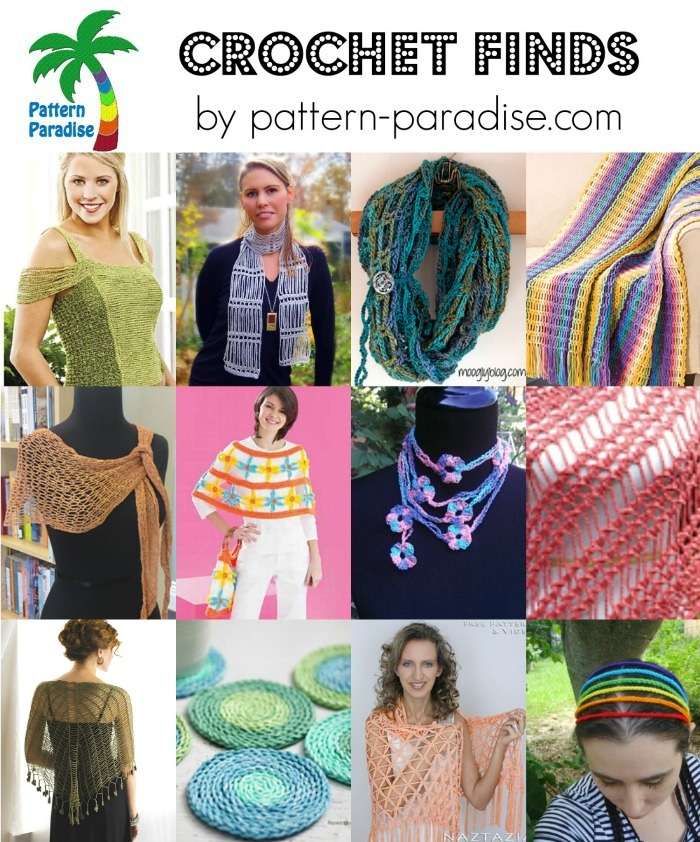 Crochet Finds on Pattern-Paradise.com 4-18-16