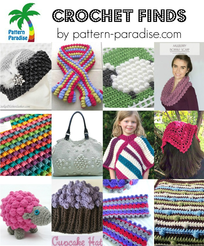 Crochet Finds 5-2-16 on Pattern-Paradise.com