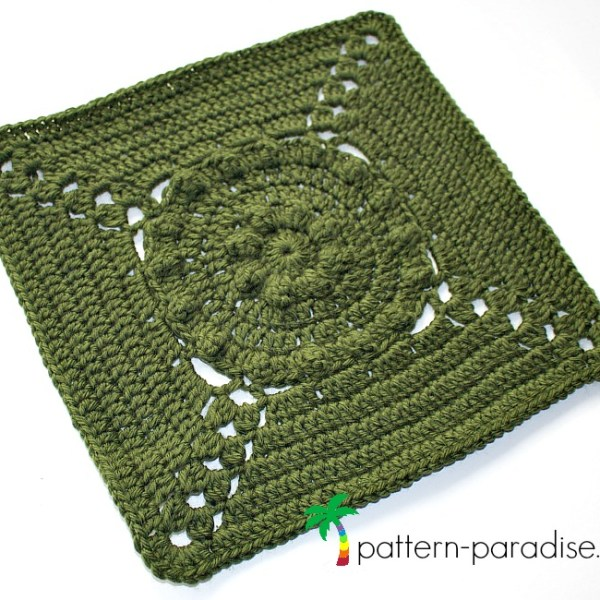 Rosary Hill Blanket CAL – Week 3 Afghan Square