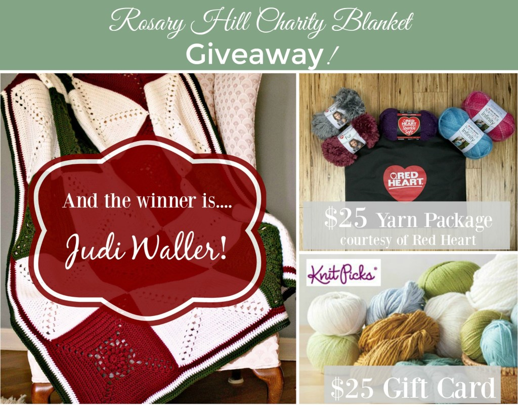 Rosary Hill Blanket Charity Giveaway!