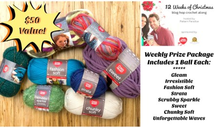 #12WeeksChristmasCAL $50 Prize Package on Pattern-Paradise.com