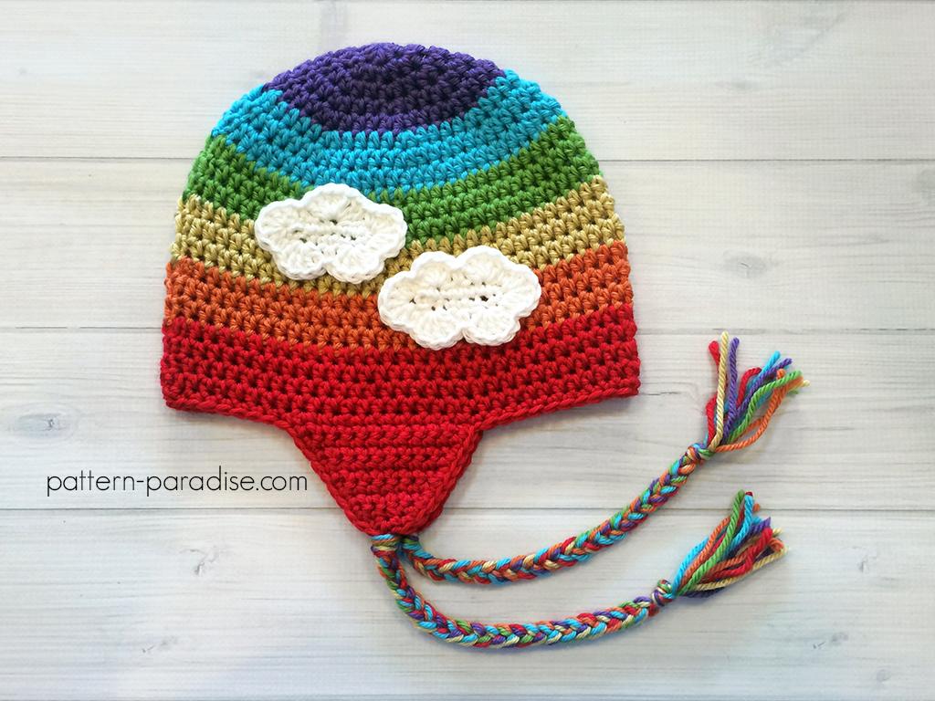 Free crochet pattern easy earflap hat pattern paradise free pattern easy earflap hat by pattern paradise dt1010fo