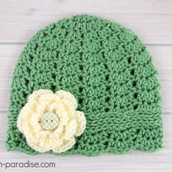 Free Crochet Pattern: Charmed Cloche