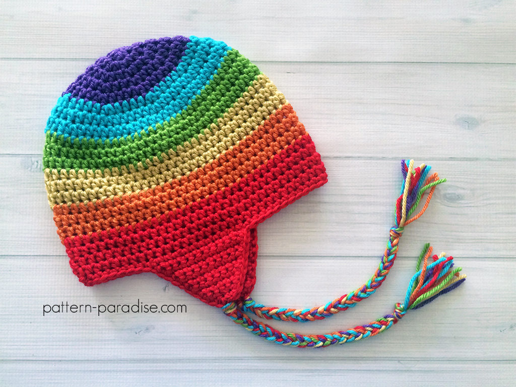 Free Pattern: Easy Earflap Hat