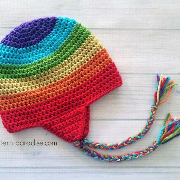 Free Crochet Pattern: Easy Earflap Hat
