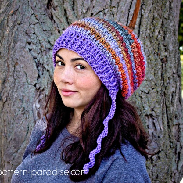 Free Crochet Pattern: Waves of Warmth Slouch