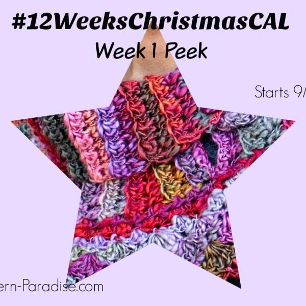 #12WeeksChristmasCAL – Reminder and Sneak Peek!