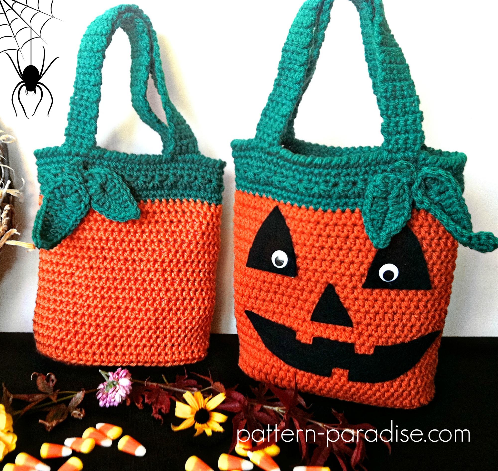 sock bag glow in the dark Knitting,crochet project bag Halloween skeletons 9x10