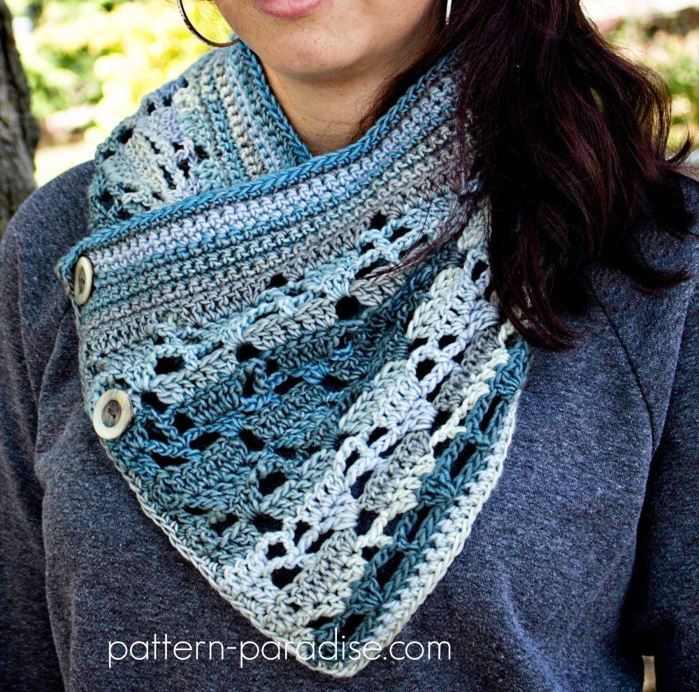 Crochet Pattern Aspen Cowl by Pattern-Paradise.com