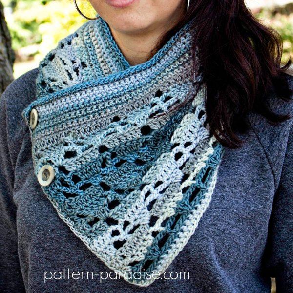 Crochet Pattern: Aspen Cowl
