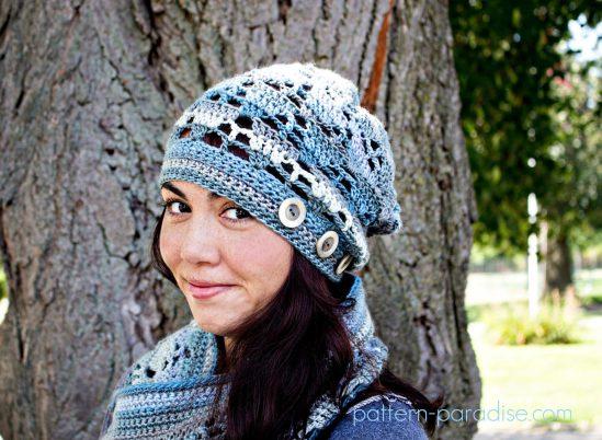 Crochet Pattern: Aspen Slouch by Pattern-Paradise.com
