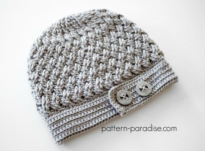Crochet Pattern Dream Weaver Hat by Pattern-Paradise.com
