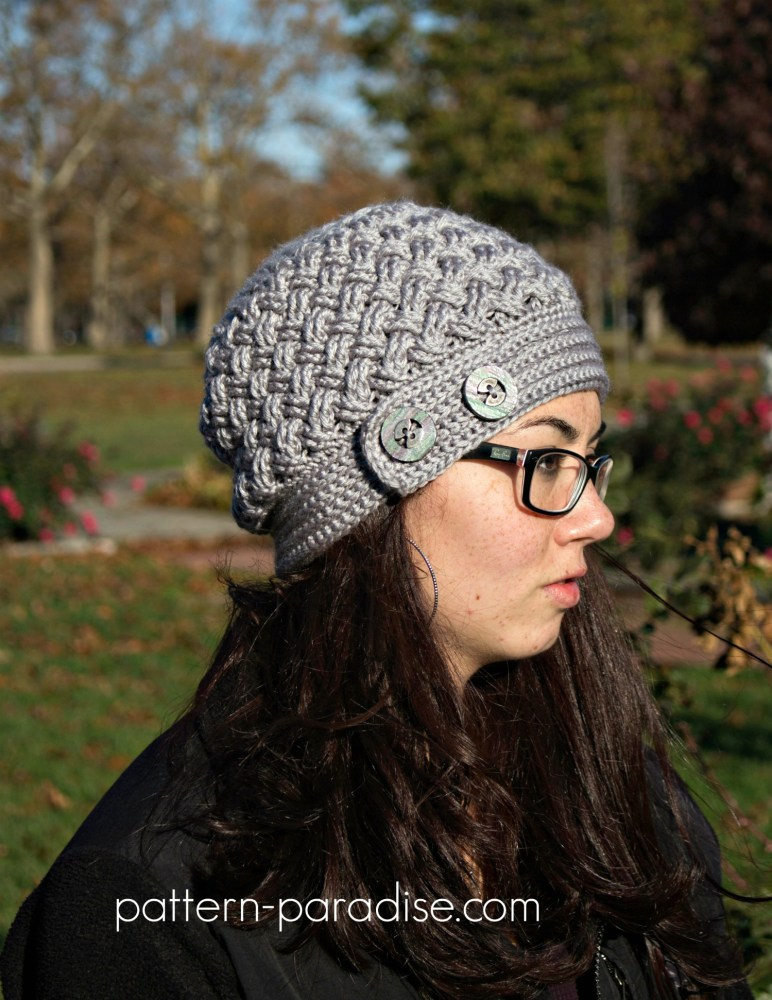 Crochet Pattern Dream Weaver Hat by Pattern-Paradise.com