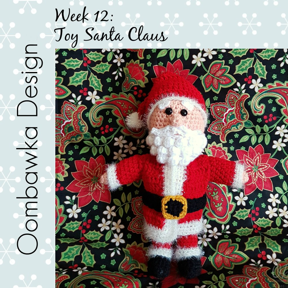 Santa Claus: #12WeeksChristmasCAL Week 12