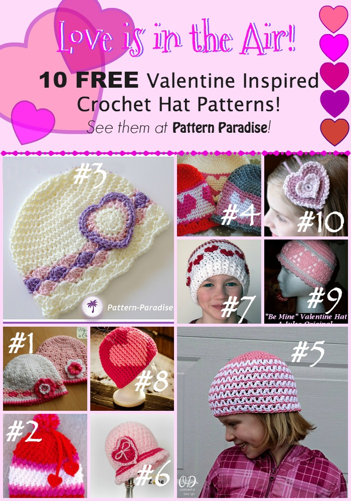 b397686dae4 Crochet Finds  Sweet Hats for Valentine s Day