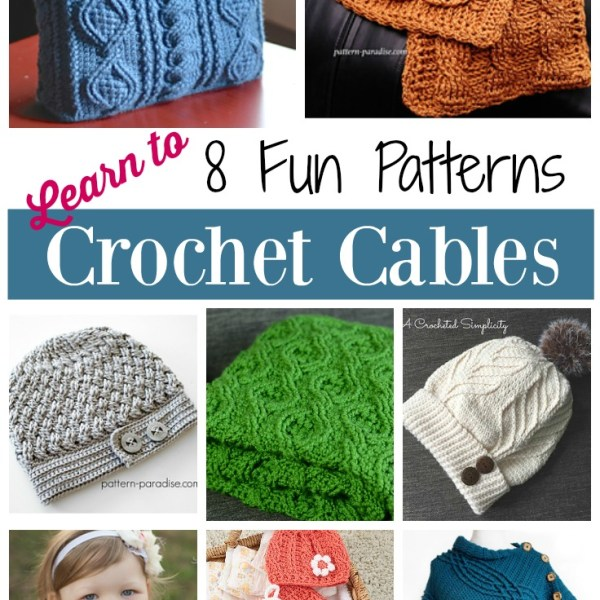 Friday Finds – Crochet Cables