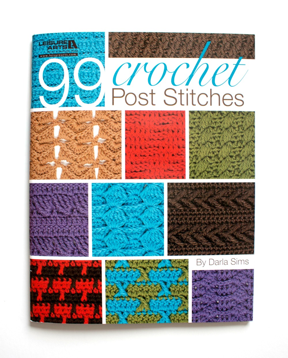 99 Crochet Post Stitches by Leisure Arts Inc - Book Review on Pattern-Paradise.com #patternparadisecrochet #crochet #poststitches