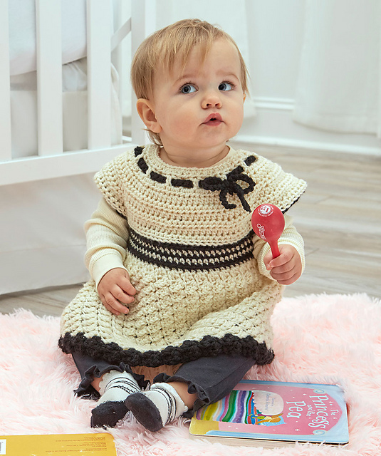 Free Crochet Pattern Babys Special Tunic Pattern Paradise