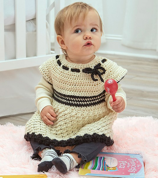 Free Crochet Pattern: Baby's Special Tunic
