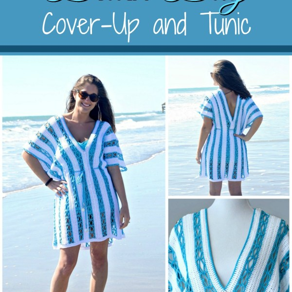 #CelebrateMomCAL – Beach Day Cover-Up Tunic
