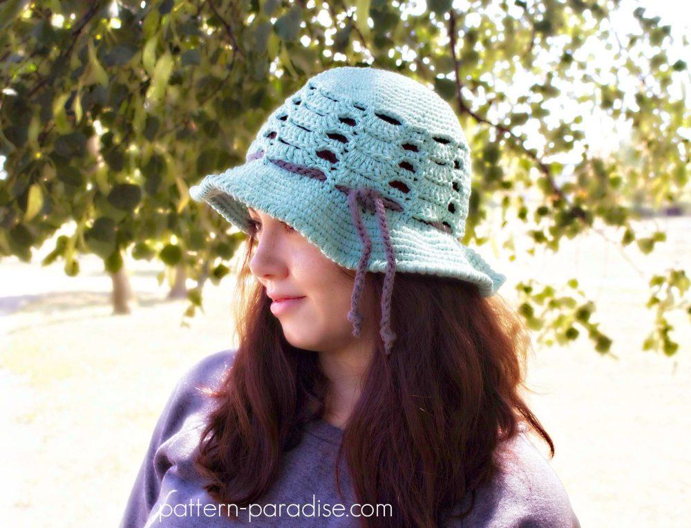 Crochet Pattern: Sage Sunhat