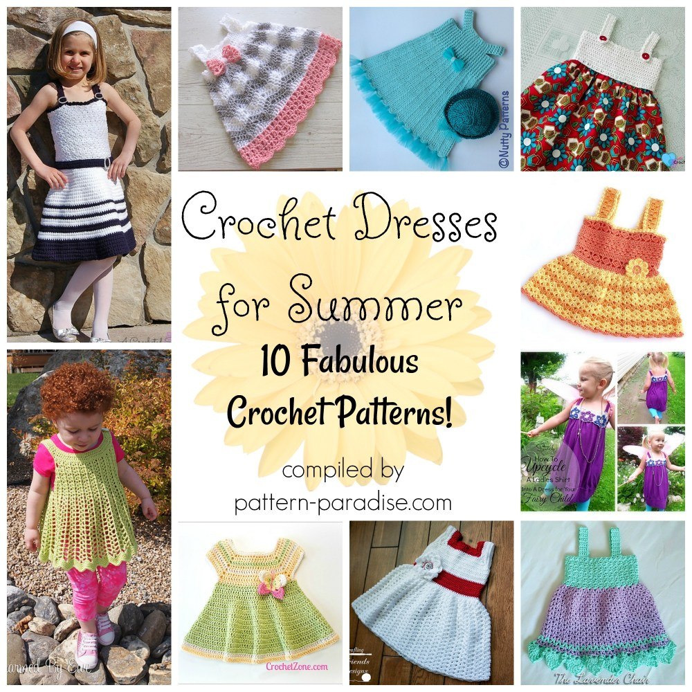 Crochet Finds – Crochet Dresses for Summer