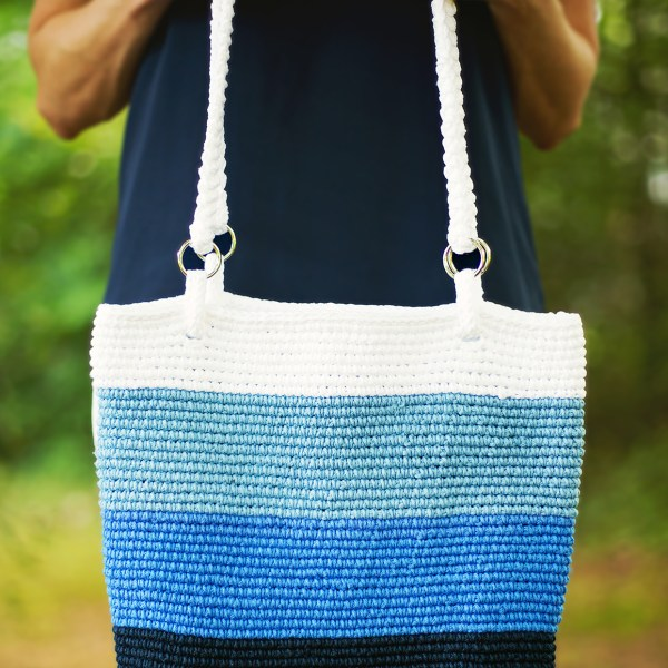 Crochet Pattern: Pacific Beach Bag