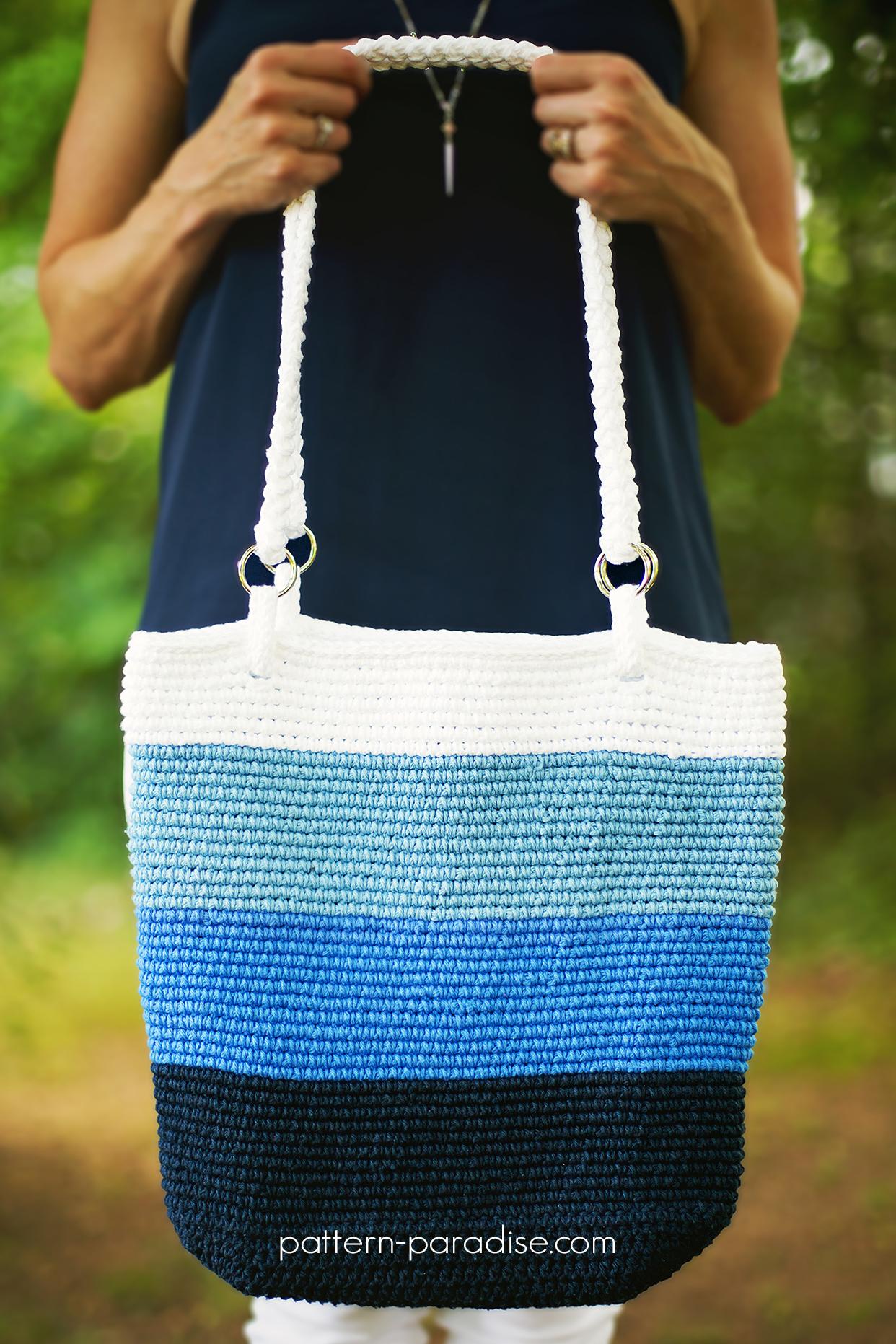Crochet Pattern: Pacific Beach Bag | Pattern Paradise