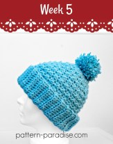 Free Crochet Pattern Dreamy Hat by pattern-paradise.com