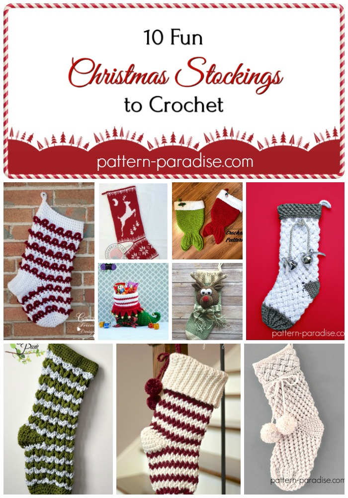 Crochet Finds – Christmas Stockings